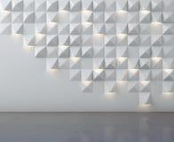 Pared y piso abstractos Imagen de archivo libre de regalías