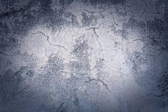 Pared y piso agrietados Foto de archivo libre de regalías