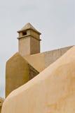 Pared y torre de Monastary Fotografía de archivo