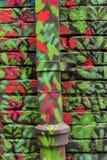 Pared y tubo pintados Fotos de archivo libres de regalías