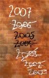 A parede Fotos de Stock Royalty Free