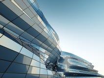 Parede abstrata da arquitetura Imagens de Stock Royalty Free