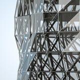 Parede abstrata da arquitetura Foto de Stock Royalty Free