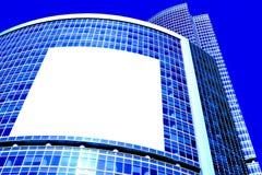 Parede abstrata de turquesa do escritório de negócio moderno Imagens de Stock