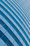 Parede abstrata do prédio de escritórios Imagens de Stock Royalty Free