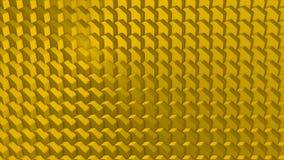 Parede abstrata dos planos que movem-se na maneira orgânica O movimento é dado laços perfeitamente fundo 3D para sua apresentação Foto de Stock