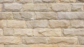 Parede alinhada com lajes da pedra calcária Imagens de Stock