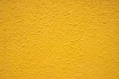 Parede amarela Fotografia de Stock Royalty Free
