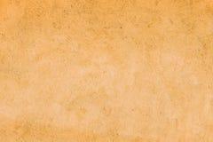 Parede amarela do cimento fotografia de stock