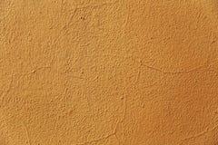 Parede amarela fundo textured Imagem de Stock