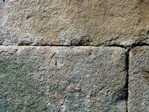 Parede antiga da citadela, textura Fotos de Stock Royalty Free