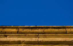 Parede antiga grega Fotografia de Stock Royalty Free