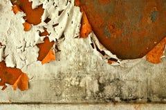 Parede arruinada velha Foto de Stock