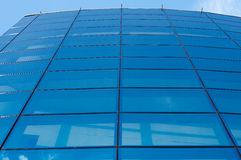 Parede azul Imagens de Stock Royalty Free