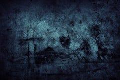 Parede azul Imagem de Stock