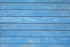 Parede azul Fotografia de Stock