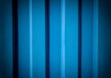 Parede azul metálica Foto de Stock Royalty Free