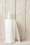 Parede branca do branco de toalhas Foto de Stock Royalty Free