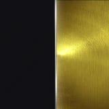 Parede brilhante do ouro fundo e textura dourados Imagens de Stock Royalty Free