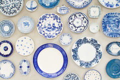 Parede cerâmica decorativa Fotos de Stock