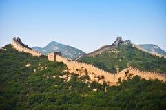 A parede chinesa Fotografia de Stock
