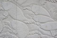 Parede cinzelada em Wuxi Fotos de Stock
