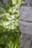 Parede cinzenta Fotografia de Stock