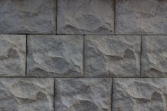 Parede cinzenta da pedra de pedras textured para o fundo imagens de stock