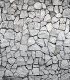 Parede cinzenta da rocha Imagens de Stock