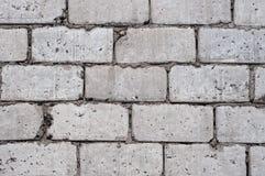 Parede cinzenta de grandes blocos de cimento, fundo, textura foto de stock