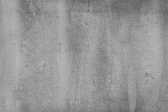 Parede cinzenta escura rachada do cimento, fundo concreto textured Imagens de Stock
