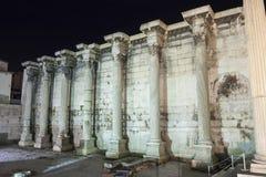 Parede circunvizinha da biblioteca de Hadrian Fotografia de Stock Royalty Free