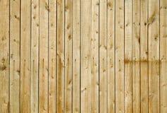 Parede coberta com as placas - fundo de madeira Fotos de Stock