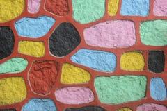A parede colorida Fotografia de Stock Royalty Free