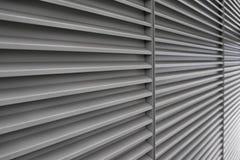 Parede com linhas horizontais na perspectiva Imagens de Stock