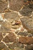 Parede com pedras do granit Imagens de Stock Royalty Free