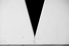 Parede com V-forma Imagem de Stock