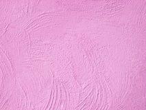 Parede cor-de-rosa abstrata do grunge da textura do fundo Imagens de Stock
