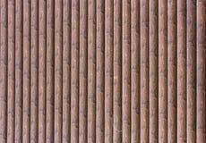 Parede da amostra da casa com casa de log Fotografia de Stock Royalty Free