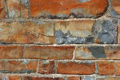 Parede da ardósia do Sandstone foto de stock royalty free