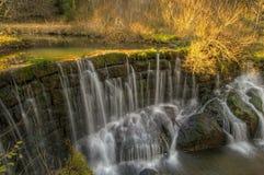 Parede da cachoeira Fotos de Stock Royalty Free