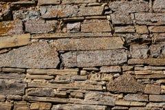 Parede da casa velha Fundo Textured imagens de stock royalty free