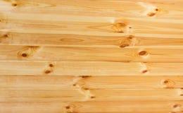 Parede da chapa da madeira de pinho da textura do fundo Imagens de Stock