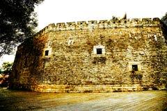 A parede da cidade antiga na cidade de Changsha foto de stock royalty free