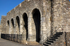 Parede da cidade de Southampton Fotografia de Stock Royalty Free