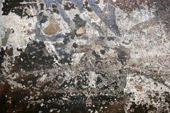 A parede da cidade pintada textures o fundo dos grafittis Imagens de Stock