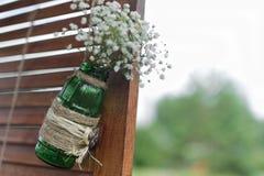 Parede da decoração do casamento imagens de stock royalty free