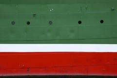 Parede da embarcação Fotos de Stock
