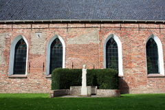 Parede da igreja Fotos de Stock Royalty Free