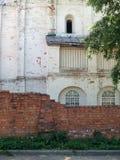 Parede da igreja em Pereyaslavl Foto de Stock Royalty Free